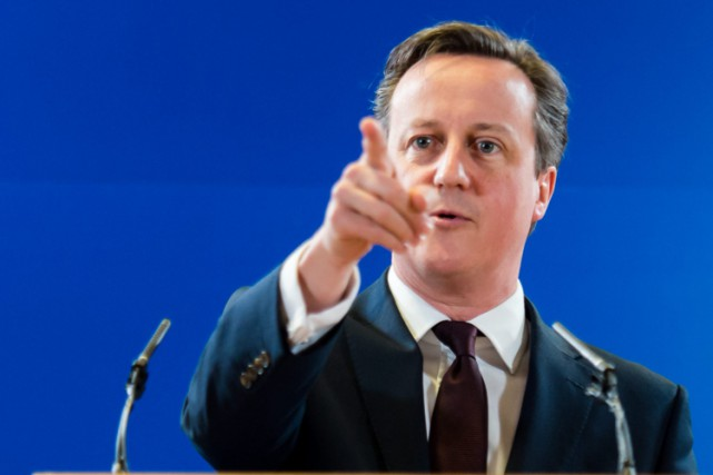 David Cameron... (Photo: AP)