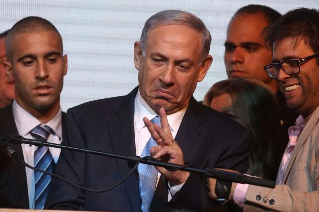 M. Nétanyahou a tenté d'atténuer les critiques de... (Photo AFP)
