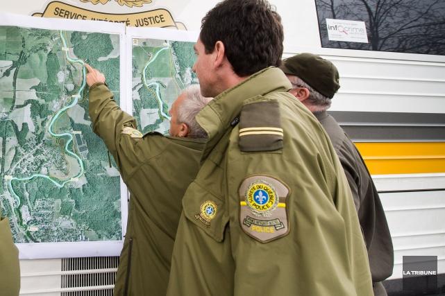 La Sûreté du Québec était à la recherche, lundi après-midi, d'un homme qui se... (Archives La Tribune, Jessica Garneau)