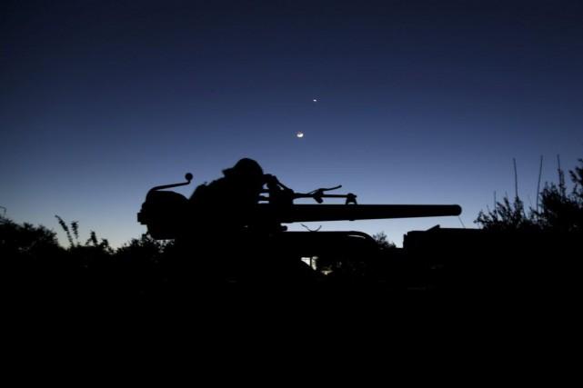 Plus de 215 000 personnes ont été tuées... (Photo Reuters)