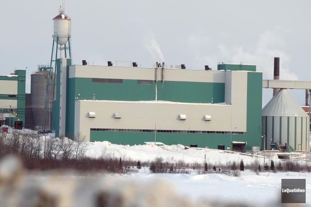L'usine Alma de Produits forestiers Résolu.... ((Archives Le Quotidien))