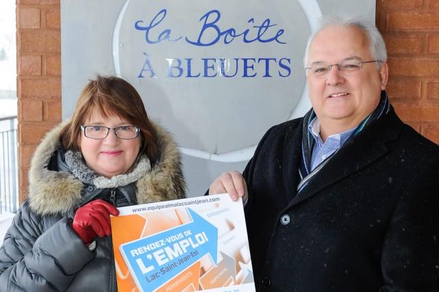 Le Rendez-vous de l'emploi Lac-Saint-Jean-Est se déroulera le... ((Courtoisie))