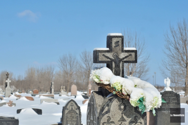 Quatorze des 57 cimetières de la Mauricie sont... (Photo: Émilie O'Connor, Le Nouvelliste)