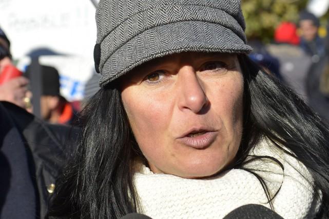 Hélène St-Pierre occupait le poste de présidente du... (Photothèque Le Soleil)