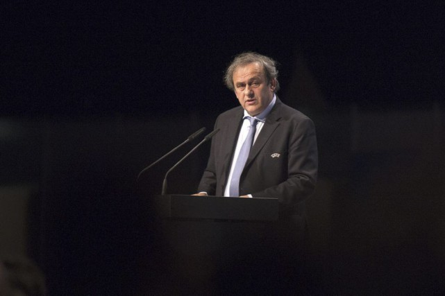 Michel Platini... (PHOTO JOE KLAMAR, AGENCE FRANCE-PRESSE)