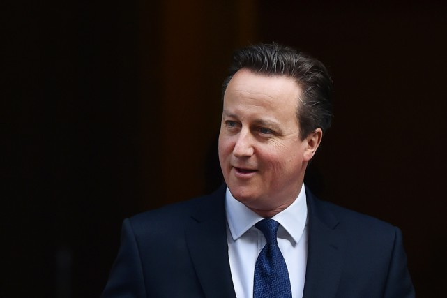 Le premier ministre britannique David Cameron.... (PHOTO BEN STANSALL, ARCHIVES AFP)