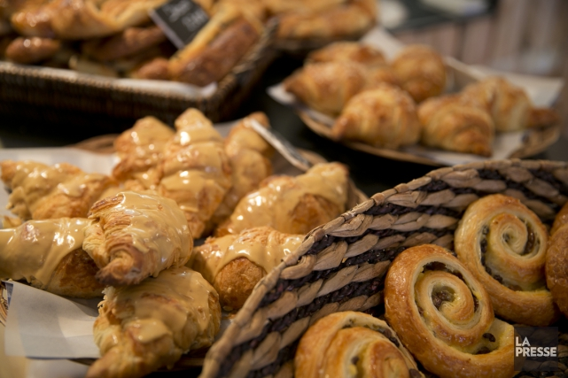 Une nouvelle boulangerie s'est installée dans Hochelaga-Maisonneuve: La... (PHOTO FRANÇOIS ROY, LA PRESSE)