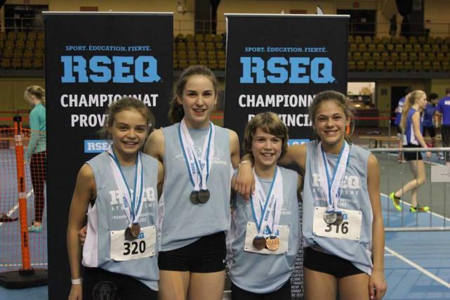 Les médaillés des championnats provinciaux scolaires d'athlétisme en...