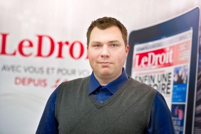 LeDroit est fier d'accueillir au sein de son équipe un nouveau journaliste,... (Martin Roy, LeDroit)