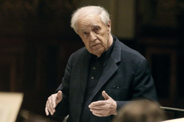 Pierre Boulez... (PHOTO ARCHIVES AFP)