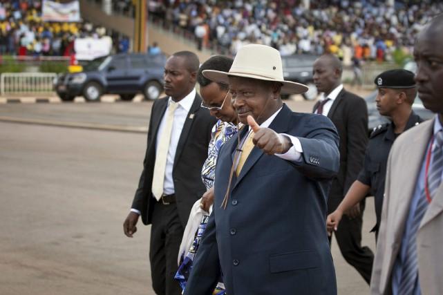 Le président ougandaisYoweri Museveni... (PHOTO ARCHIVES AP)
