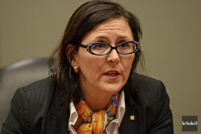 La présidente de la Fédération des médecins spécialistes... (Photo Patrice Laroche, archives Le Soleil)
