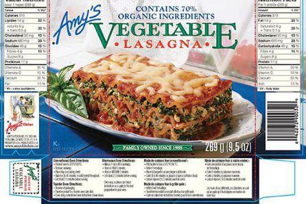 Amy's Kitchen, une compagnie basée à Petaluma en... (Photo fournie par l'ACIA)
