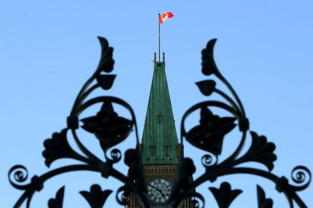Le gouvernement conservateur a déposé son projet de... (Photo Fred Chartrand, La Presse Canadienne)