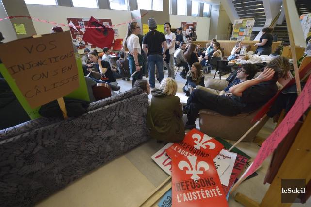 Que vise la «grève sociale» lancée par près de 40000 étudiants? Vu l'amalgame... (Photo Le Soleil)