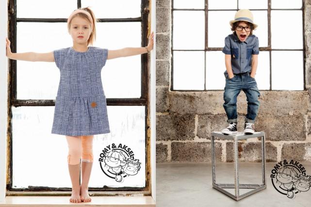 Les vêtements Romy et Aksel sont offerts notamment... (Photo fournie par Romy et Aksel)