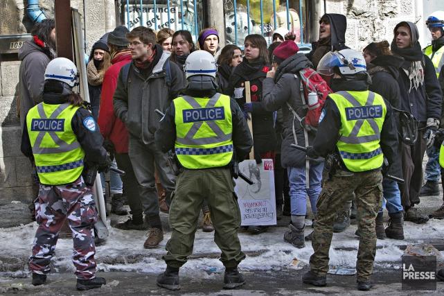 Les manifestations qui ont déjà commencé au Québec (et qui se poursuivront,... (La Presse)