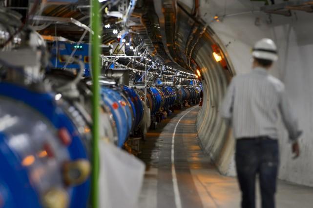 L'Organisation européenne pour la recherche nucléaire (CERN) retarde le... (Photo AFP)
