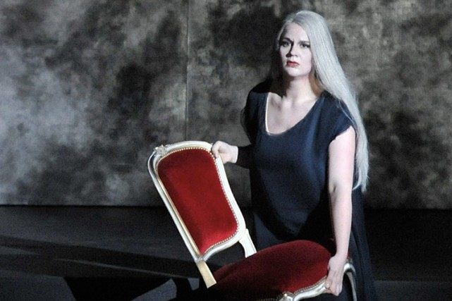 Maria Radner lors d'une performance deGötterdämmerungde Richard Wagner... (Archives AP)