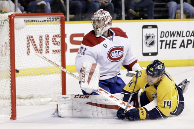 Relisez le clavardage du match entre le Canadien et les Predators de Nashville. (Photo: AP)