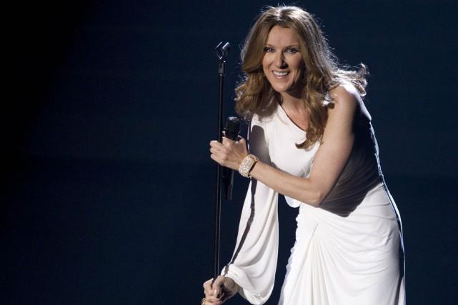 C'est la première fois que Céline Dion parle... (PHOTO ARCHIVES AP)