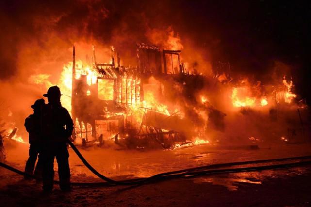 Trente-deux personnes âgées avaient péri dans l'incendie de... (PHOTO ARCHIVES LA PRESSE CANADIENNE)