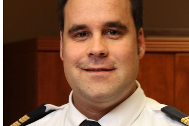 L'inspecteur au Service de police de Bromont,Marc Tremblay... (photo archives La Voix de l'Est)