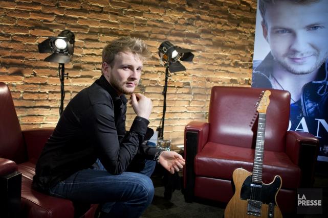 Le chanteur Yoan, gagnant de La voix en... (Photo: La Presse)