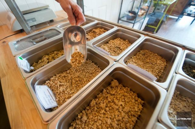 Pour clôturer le mois de la nutrition, la boutique Un Monde de Noix de... (Imacom, Jessica Garneau)