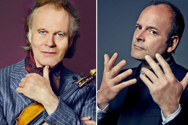 Le violoniste Augustin Dumay offrira un duo avec... (Courtoisie)