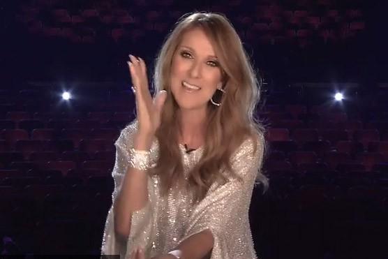 Céline Dion... (Image tirée de YouTube)