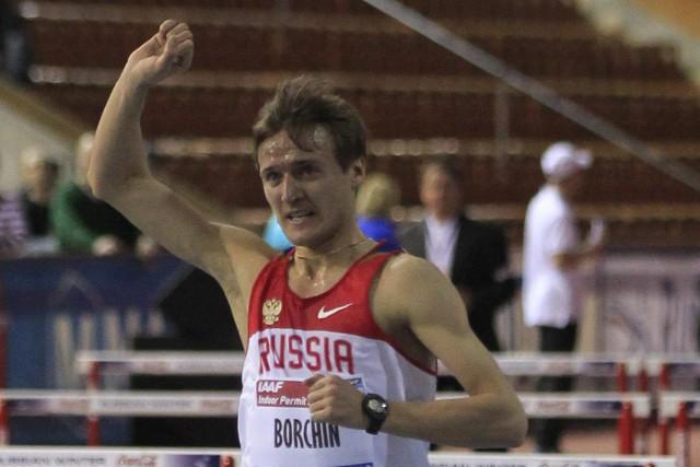 Valery Borchin fait partie des athlètes suspendusen janvier... (PHOTO ARCHIVES AP)
