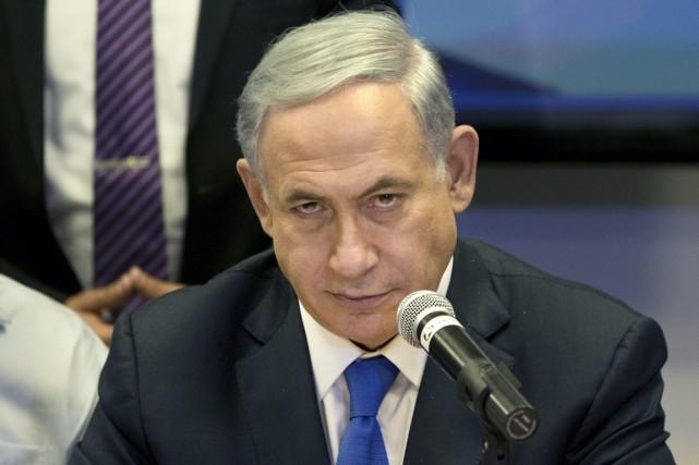 Le premier ministre Benjamin Nétanyahou a accepté que... (PHOTO ARIEL SCHALIT, ARCHIVES AP)