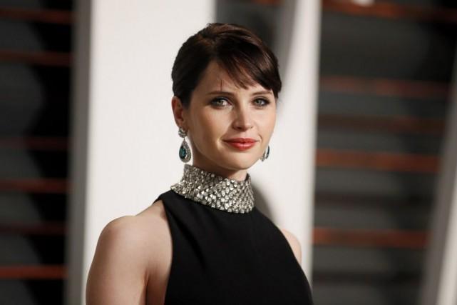 Felicity Jonesa été nommée aux Oscar pour son... (Photo Danny Moloshok, REUTERS)