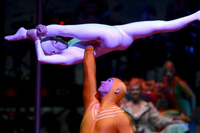 Le Cirque du Soleil va présenter un spectacle... (Photo d'archives)