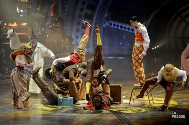 L'opposition presse le gouvernement Couillard d'intervenir pour que le Cirque... (PHOTO BERNARD BRAULT, ARCHIVES LA PRESSE)