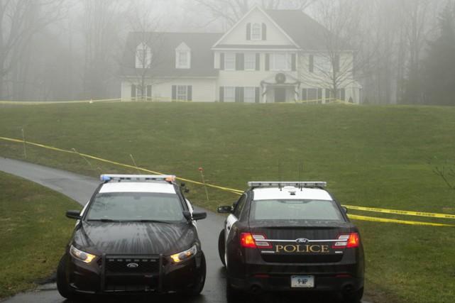 La maison de la famille Lanza en décembre... (Archives AFP)