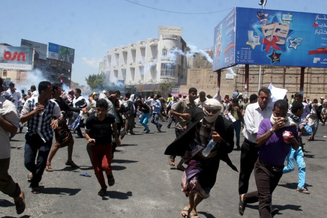 Après la progression fulgurante des Houthis en direction... (Photo: Reuters)