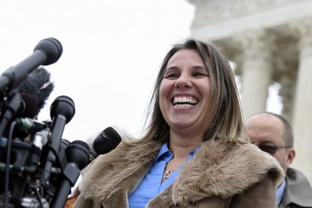 Peggy Young travaillait comme chauffeur-livreur pour l'entreprise postale... (Photo: AP)