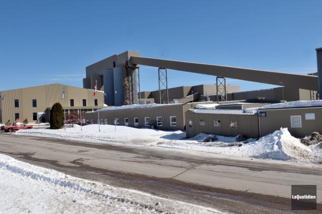 La mine Niobec a annoncé hier matin qu'elle... ((Photo Le Quotidien-Rocket Lavoie))