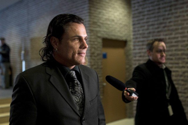 Patrick Brazeau fait face à des accusations de... (La Presse Canadienne)
