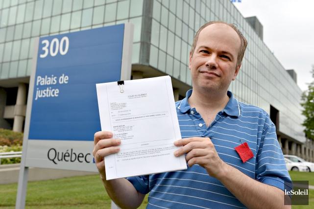 À l'automne 2012, André Bérubé avait gagné sa... (Photothèque Le Soleil, Patrice Laroche)