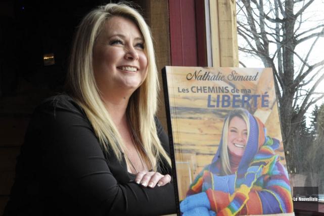 Nathalie Simard apparaissait rayonnante de bonheur lors du... (Photo: Sylvain Mayer, Le Nouvelliste)