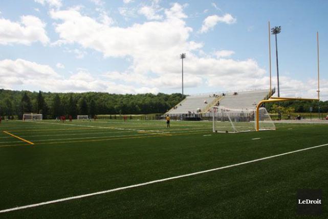 L'école secondaire Mont-Bleu sera l'hôte du Championnat provincial scolaire de... (Etienne Ranger, Archives LeDroit)