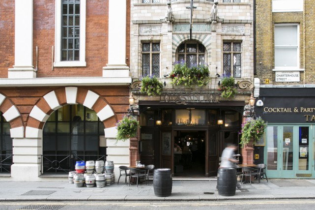 En découvrant des pubs, autant au coeur de... (Photo fournie par le pub Fox & Anchor)