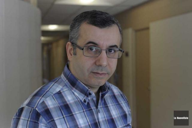 Ismaïl Biskri, le nouveau président du SPPUQTR.... (Photo: Sylvain Mayer, Le Nouvelliste)