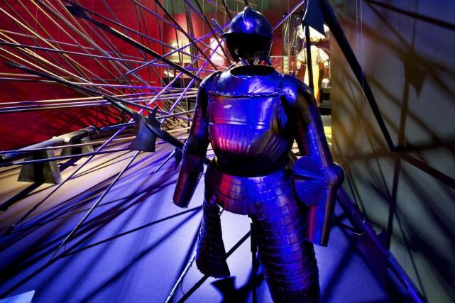 Marignan 1515, une date incontournable pour les écoliers qui revit au musée... (PHOTO SWISS NATIONAL MUSEUM ZURICH, AFP)