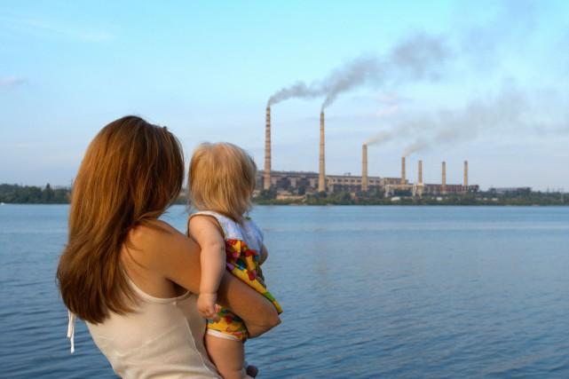 La pollution de l'air autour de puits de... (Photo Digital/Thinkstock)