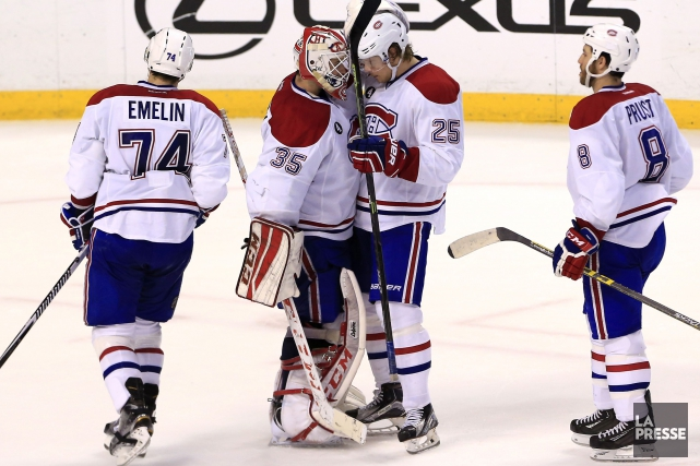 Alexei Emelin, Dustin Tokarski, Jacob De La Rose... (PHOTO ROBERT MAYER, ARCHIVES USA TODAY SPORTS)