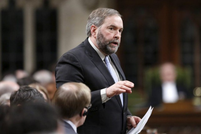 Thomas Mulcair... (PHOTO CHRIS WATTIE, REUTERS)